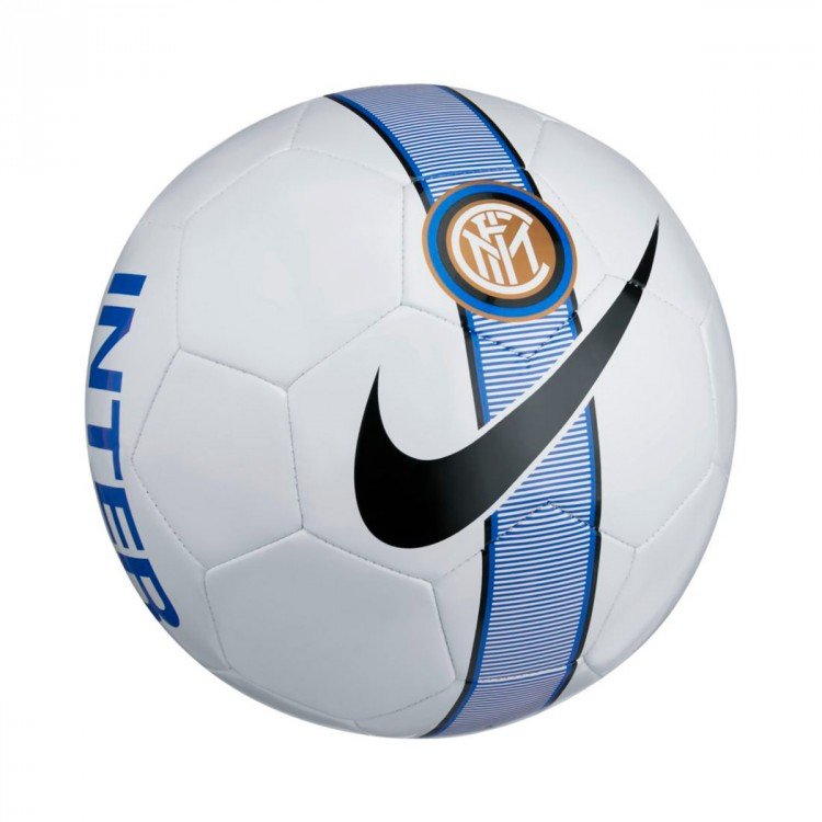 Balón Nike Inter Milán Supporters 2017-2018 White-Royal blue-Black