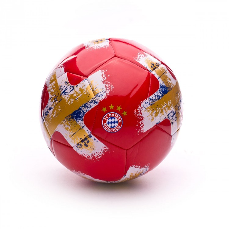 Balón adidas Torfabrik Bayern de Munich 2017-2018 True red-White