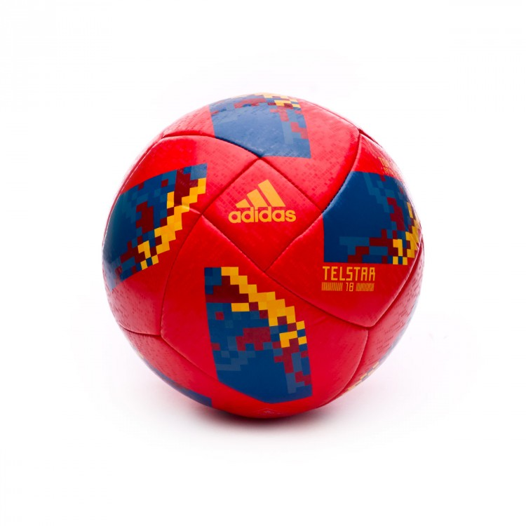 Balón adidas World Cup 18 España Telstar 2017-2018 Red-Gold