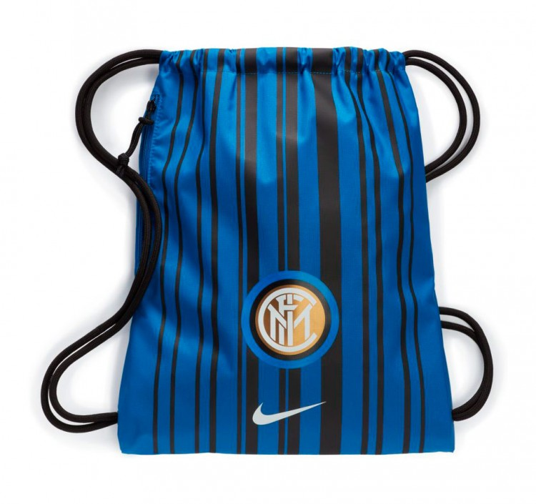Bolsa Nike Gymsack Inter Milan Stadium 2017-2018 Royal blue-Black-White