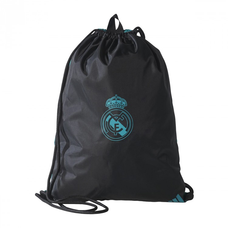 Bolsa adidas Gymbag Real Madrid 2017-2018 Black-Aero reef