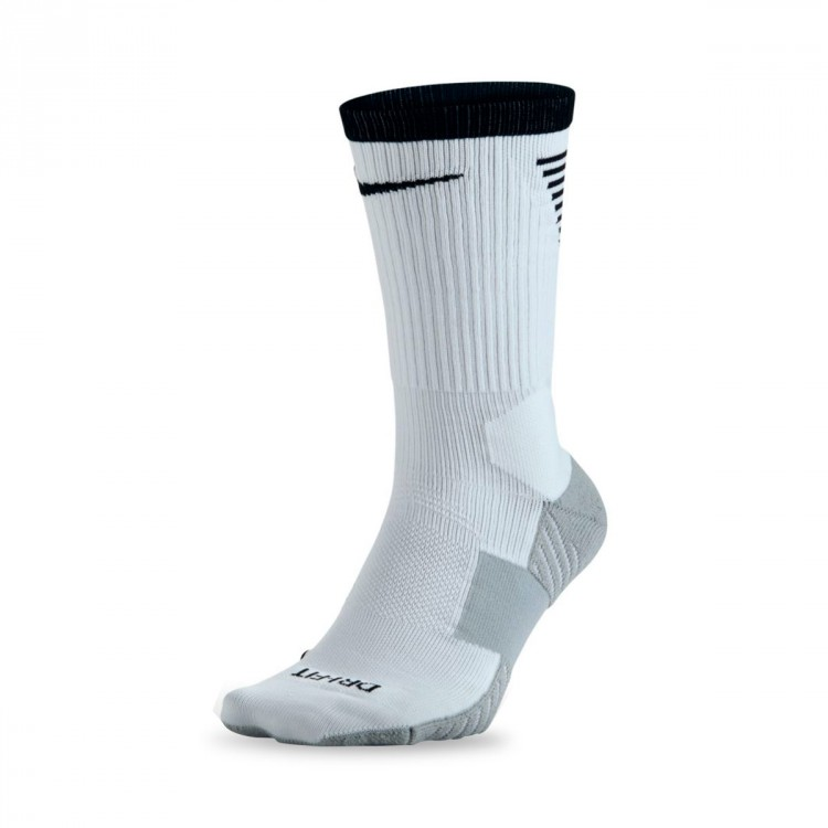 Calcetines Nike Dry Squad Crew Football White-Black