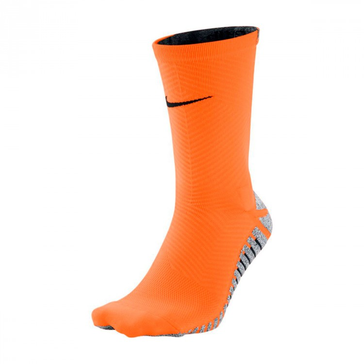 Calcetines Nike Grip Strike Light Crew Total orange-Black