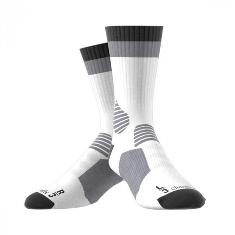 Calcetines adidas Comfort White-Grey