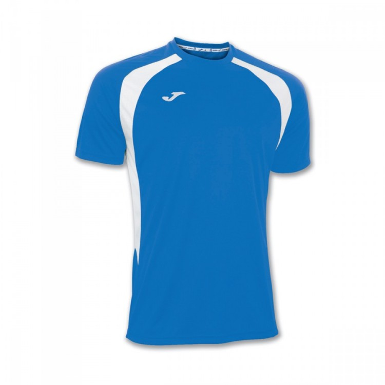 Camiseta Joma Champion III m/c Royal-Blanca
