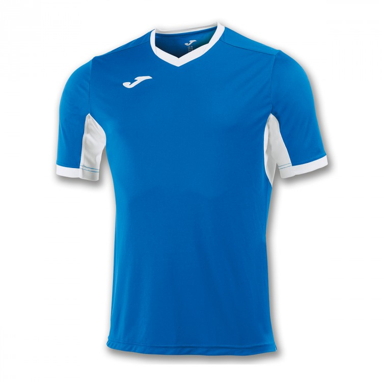 Camiseta Joma Champion IV m/c Azul royal-Blanco