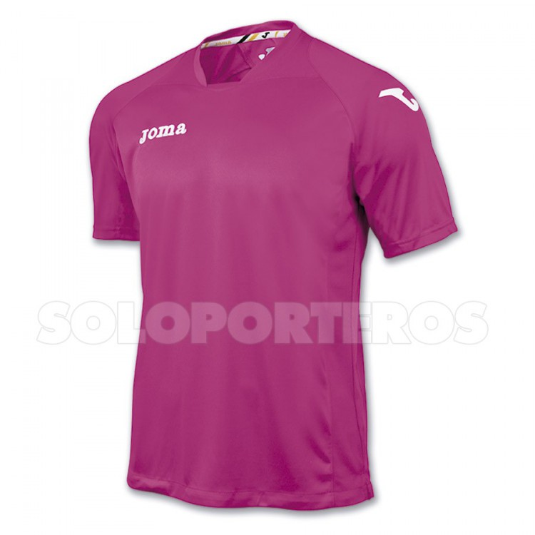 Camiseta Joma M/C Fit One Rosa-Blanca