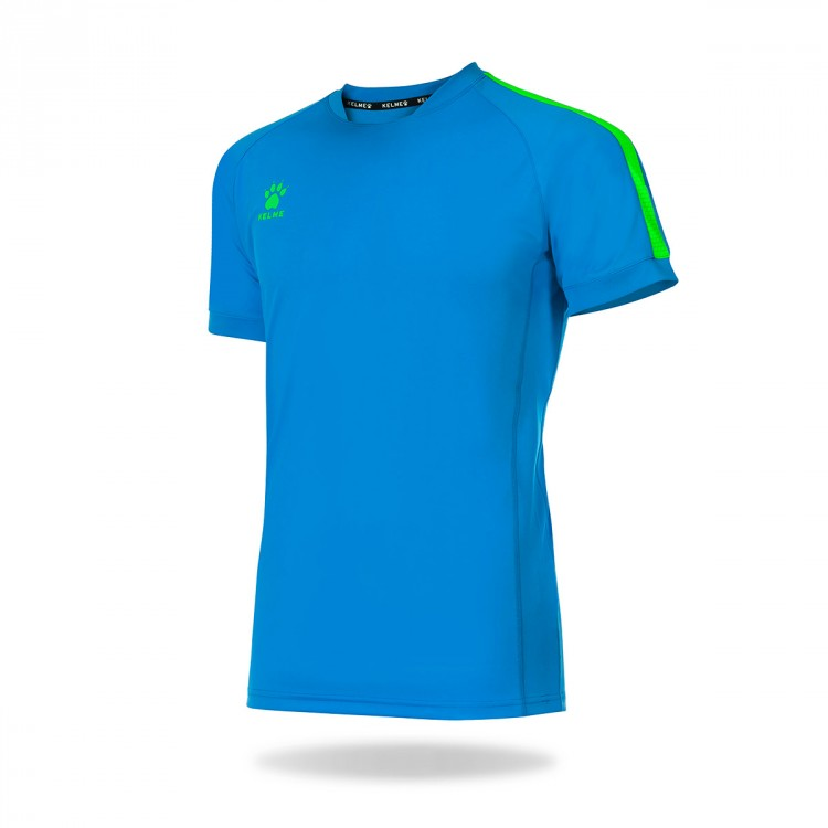 Camiseta Kelme Global m/c Turquesa