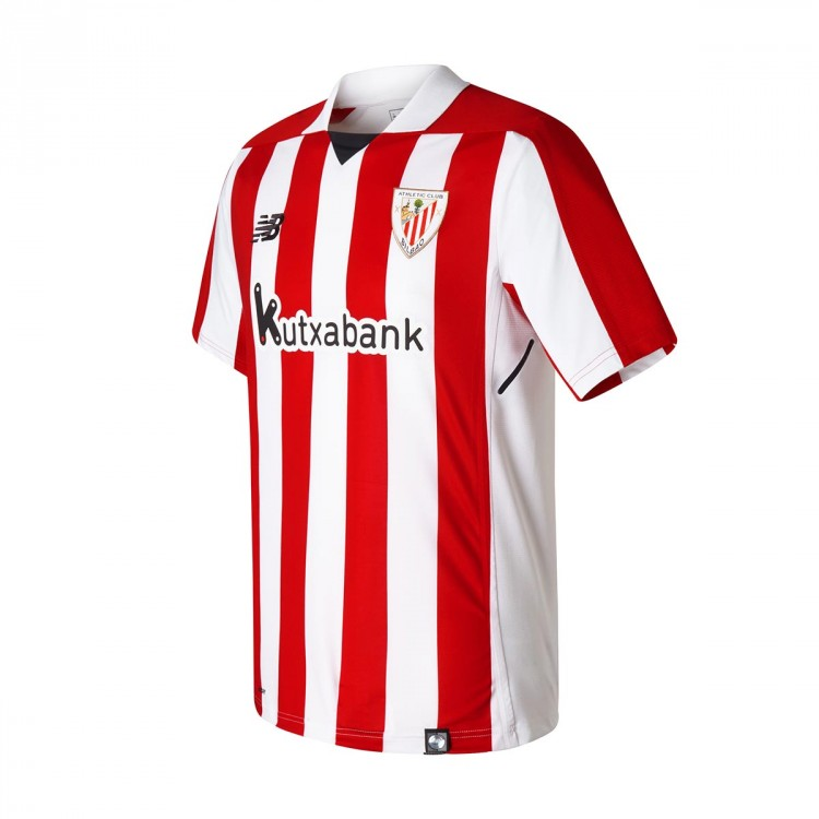Camiseta New Balance AC Bilbao MC Primera Equipación 2017-2018 Red-White