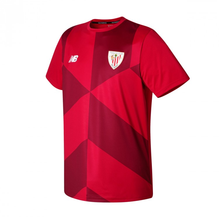 Camiseta New Balance AC Bilbao training 2017-2018 Red