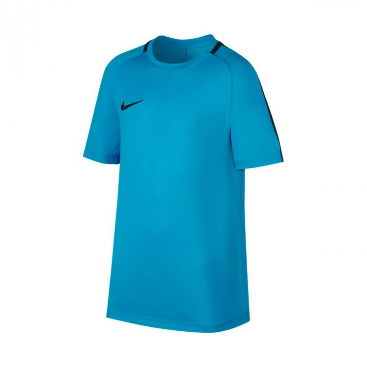 Camiseta Nike Academy Dry SS Niño Light blue fury-Armory navy
