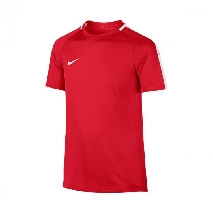 Camiseta Nike Academy Dry SS Niño University red-White