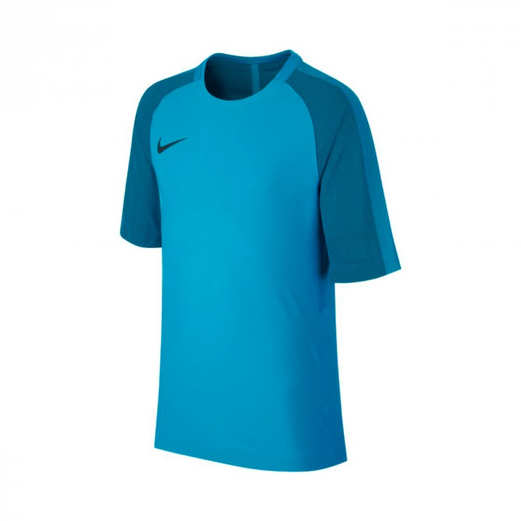 Camiseta Nike Aeroswift Strike SS Niño Light blue fury-Armory navy