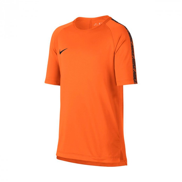 Camiseta Nike Breathe Squad Top SS Niño Cone-Black