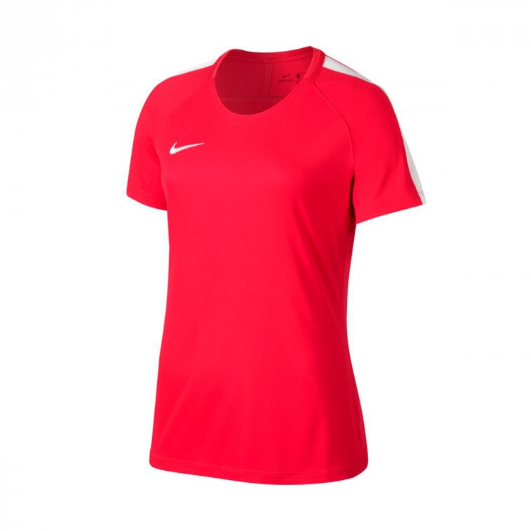 Camiseta Nike Dry Academy Football Mujer Siren red-White