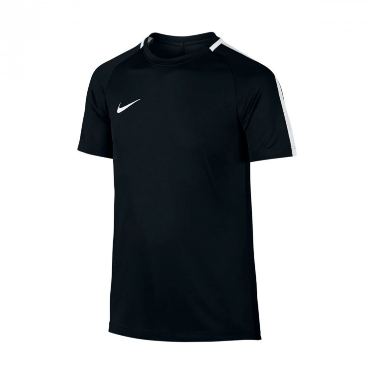Camiseta Nike Dry Academy Top Niño Black-White