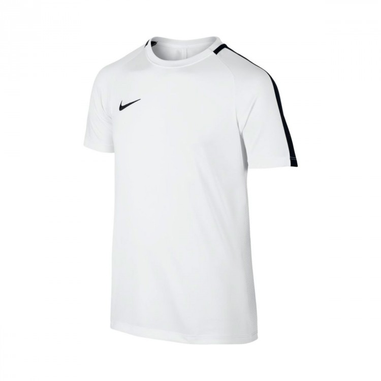 Camiseta Nike Dry Academy Top Niño White-Black
