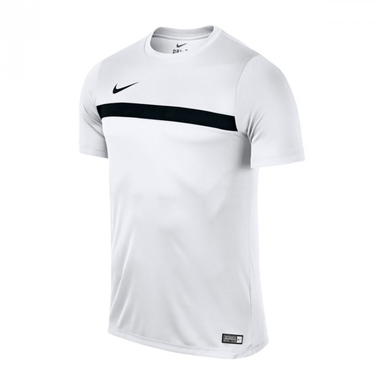 Camiseta Nike Dry Football Niño White-Black