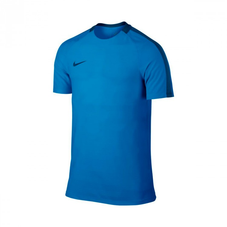 Camiseta Nike Dry Squad Football Niño Light photo blue-Binary blue