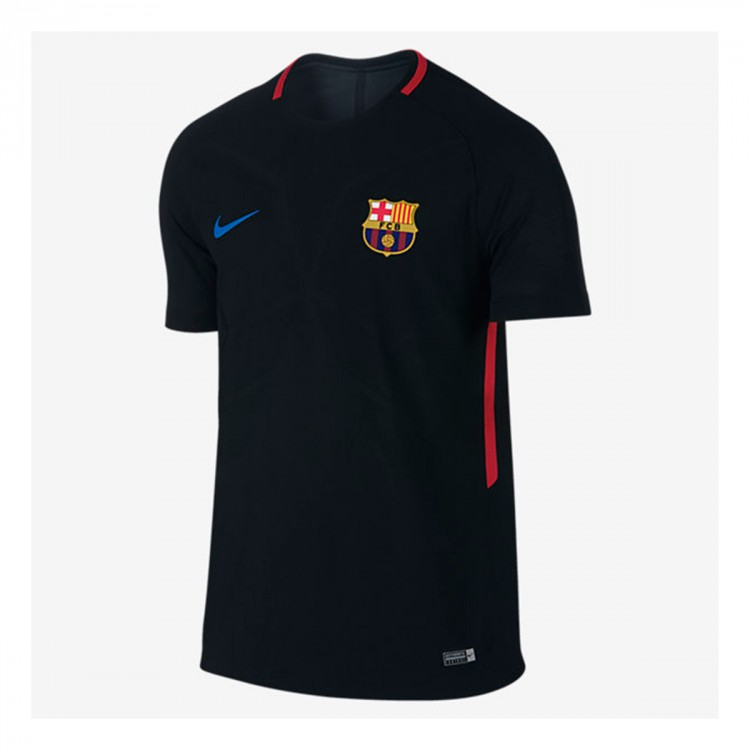 Camiseta Nike FC Barcelona Aeroswift Strike 2017-2018 Black-University red-Soar