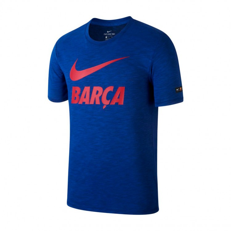 Camiseta Nike FC Barcelona Dry 2017-2018 Deep royal blue