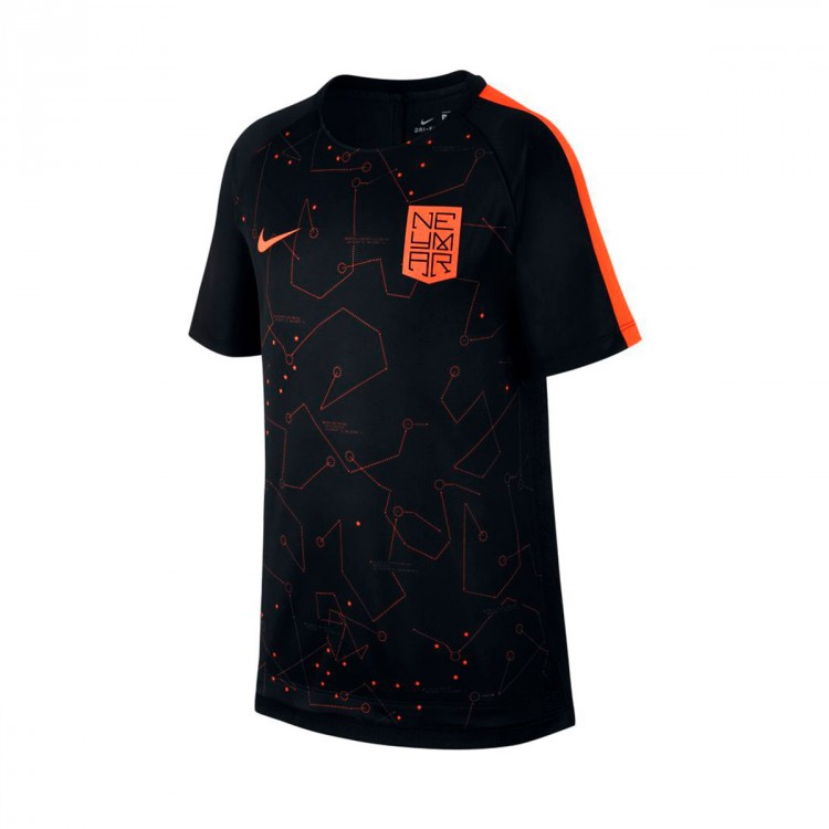 Camiseta Nike Squad Dry Neymar SS GX Niño University red-Black