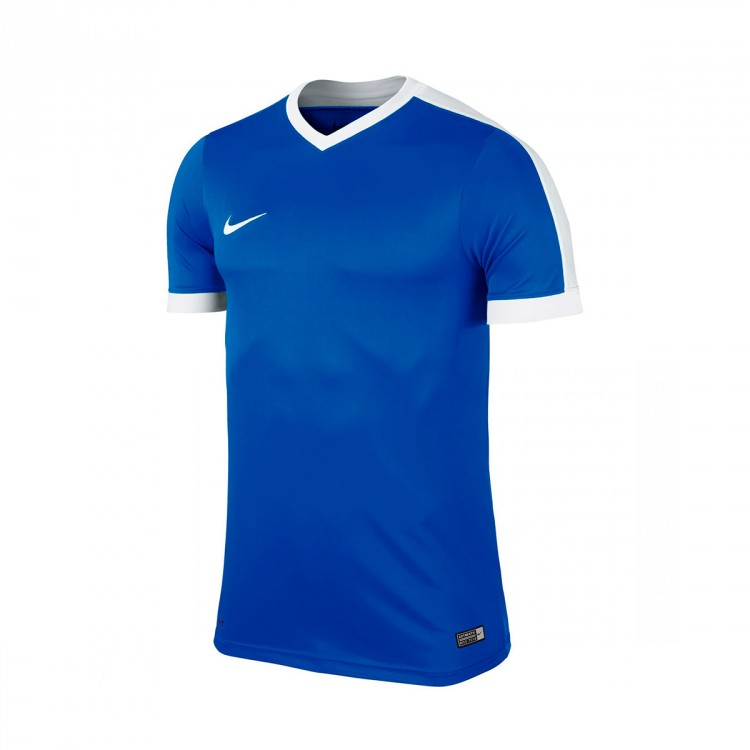Camiseta Nike Striker IV m/c Royal blue-White