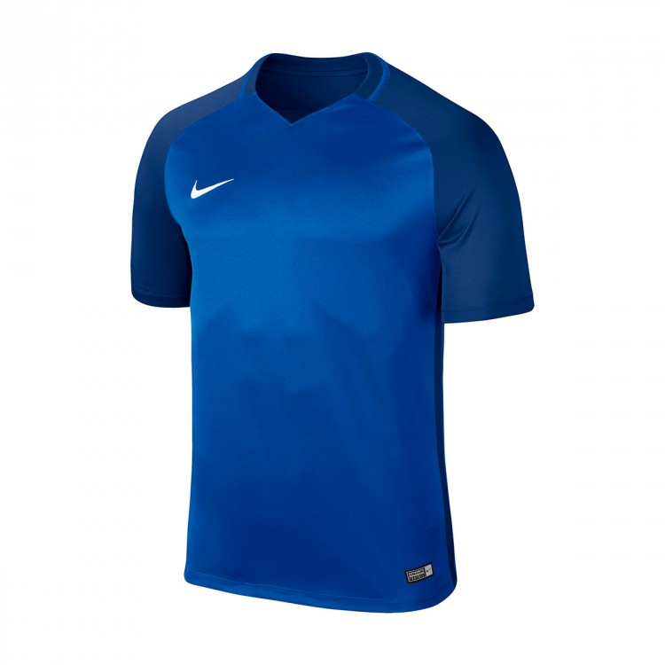 Camiseta Nike Trophy III m/c Niño Royal blue-Deep royal blue