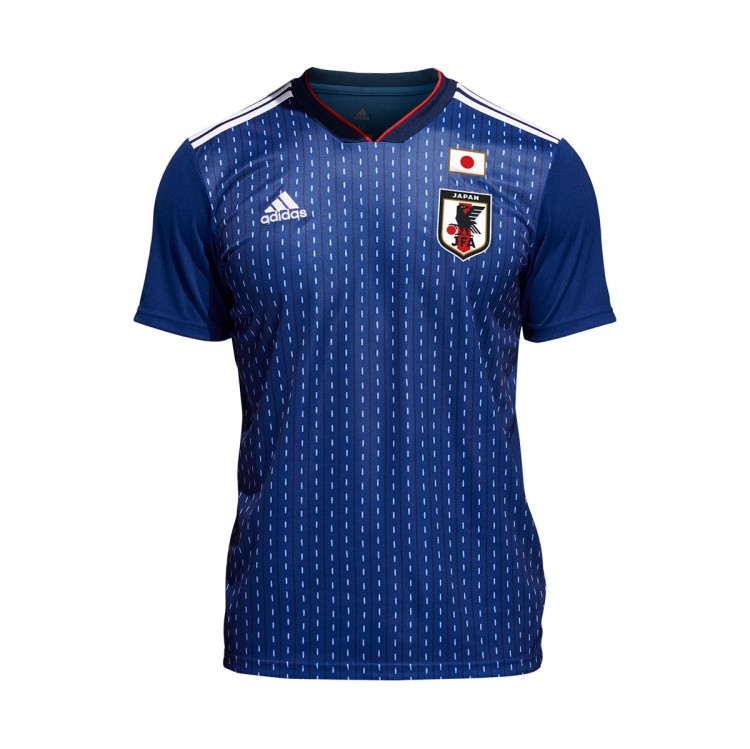 Camiseta adidas Japón Primera Equipación 2017-2018 Night blue-White