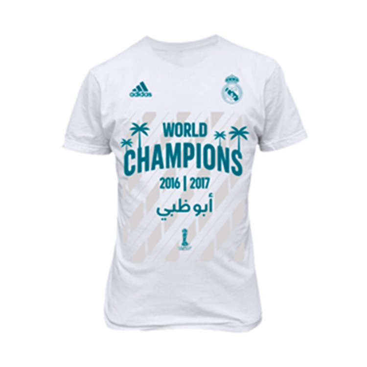 Camiseta adidas Real Madrid FIFA World Champion 2017 White