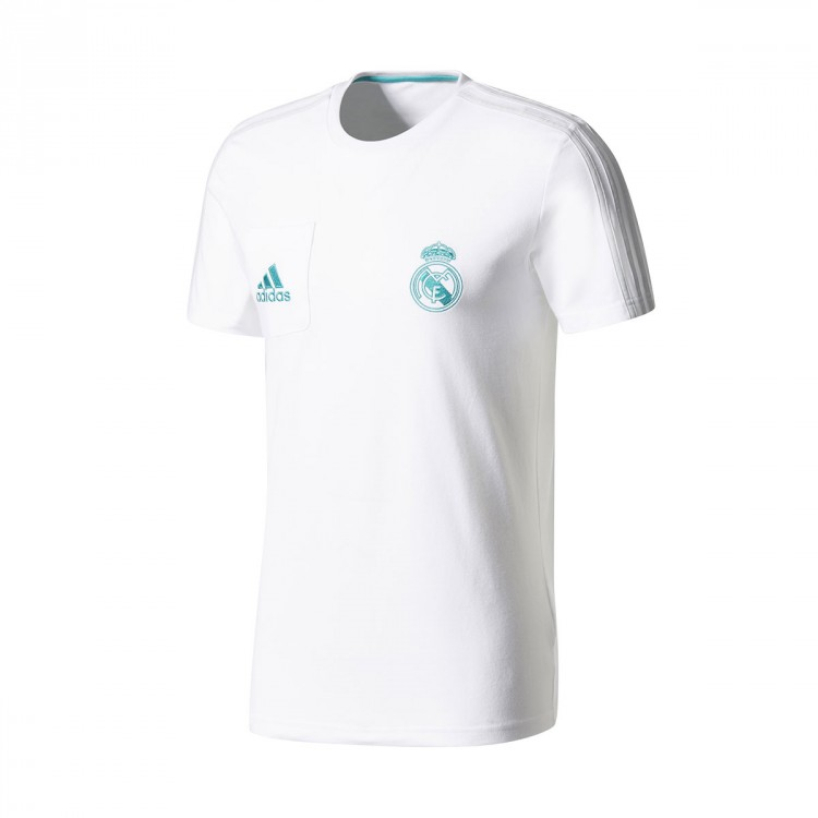 Camiseta adidas Real Madrid Tee 2017-2018 White