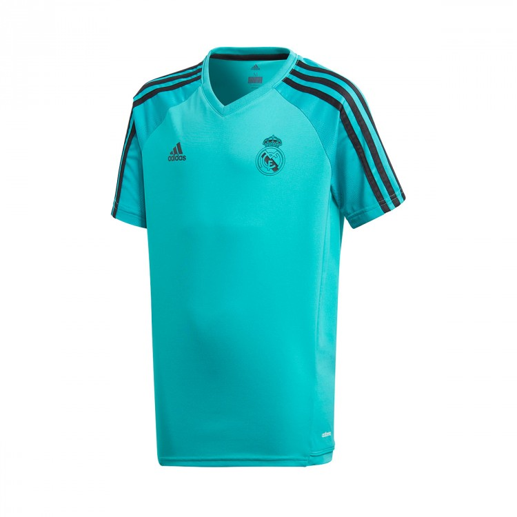 Camiseta adidas Real Madrid Training 2017-2018 Niño Aero reef