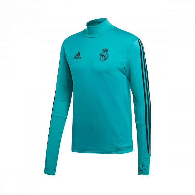Camiseta adidas Real Madrid Training Top 2017-2018 Aero reef-Black