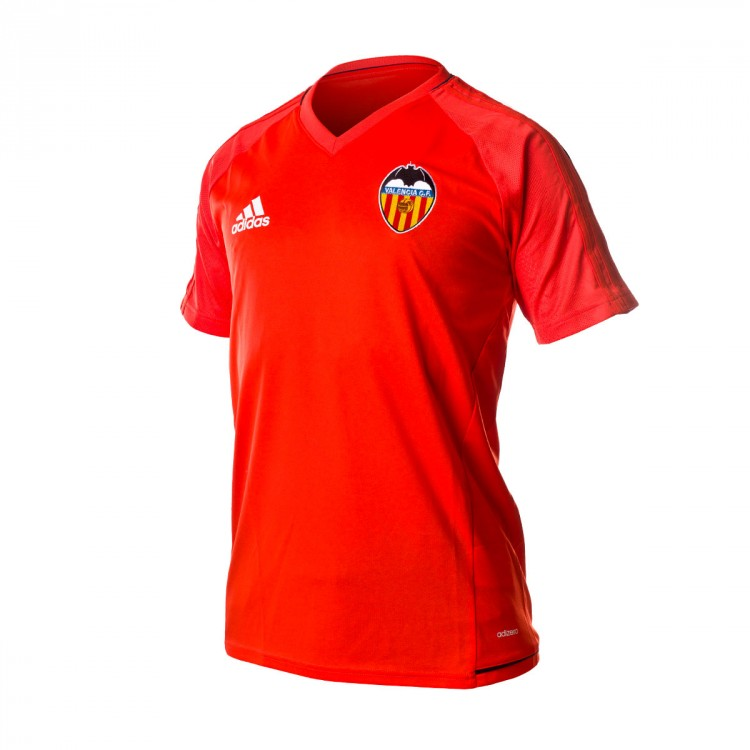 Camiseta adidas Valencia CF Training 2017-2018 Energy-Collegiate navy-White