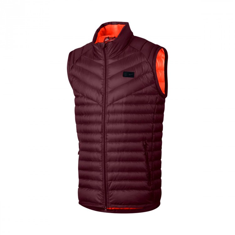 Chaleco Nike FC Barcelona NSW OW Down 2017-2018 Night maroon-Hyper crimson