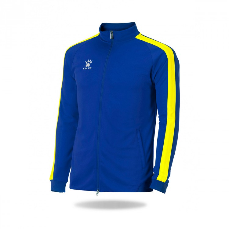 Chaqueta Kelme Global Azul royal-Amarillo