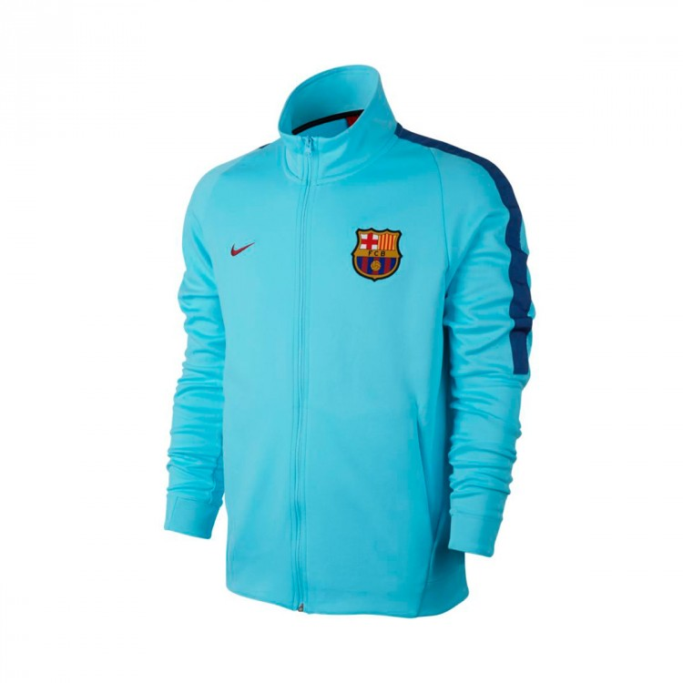 Chaqueta Nike FC Barcelona NSW 2017-2018 Polarized blue-Deep royal blue-Noble red