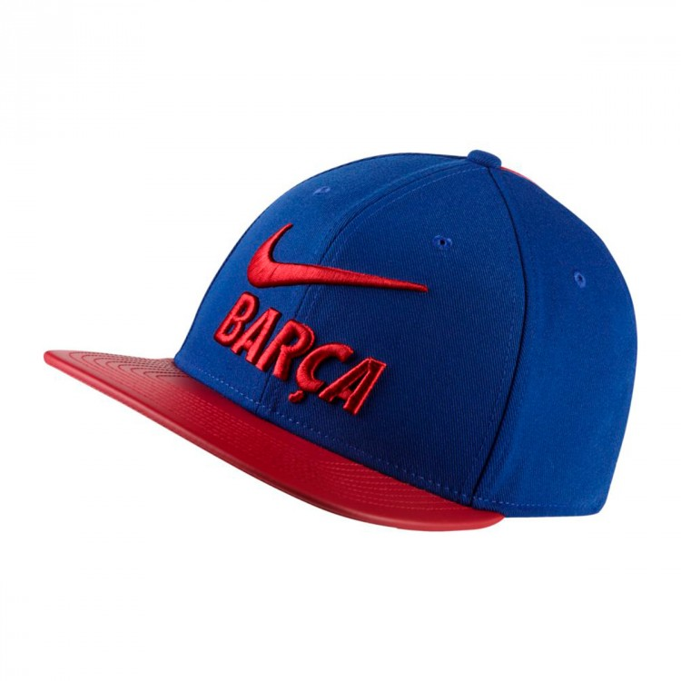 Gorra Nike FC Barcelona Pro 2017-2018 Deep royal blue-Noble Red