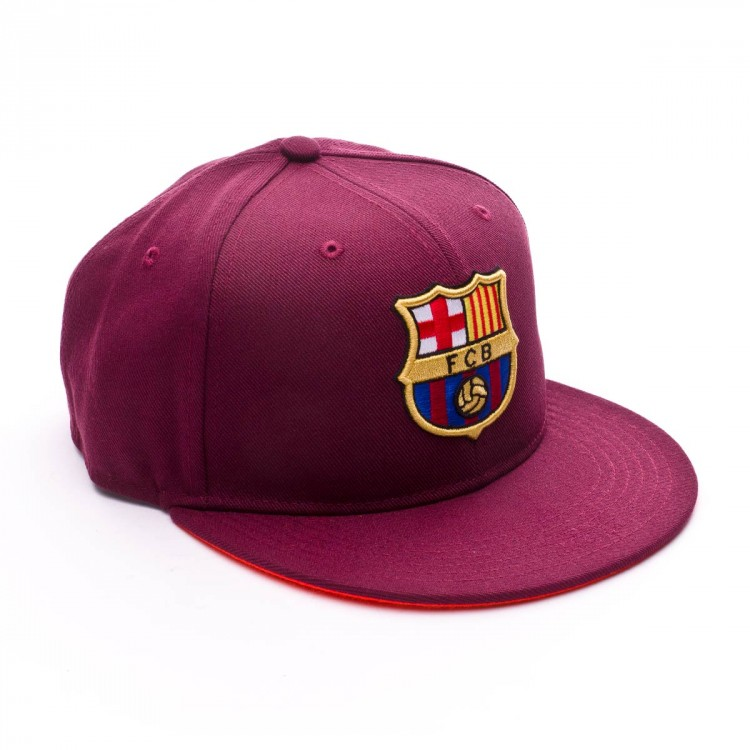 Gorra Nike FC Barcelona True Core 2017-2018 Niño Night maroon-Hyper crimson