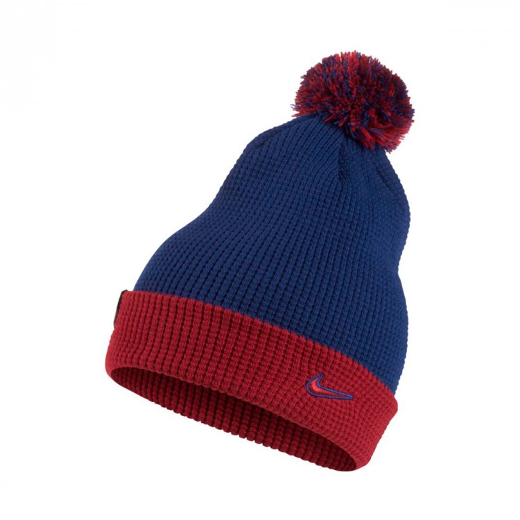 Gorro Nike FC Barcelona 2017-2018 Deep royal blue-Noble red