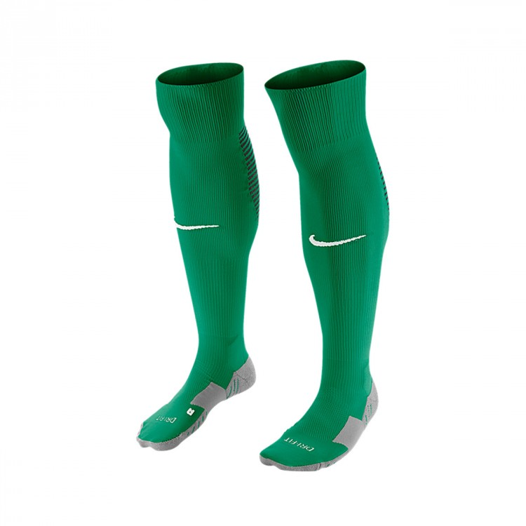 Medias Nike Matchfit Over-the-Calf Lucid green-White