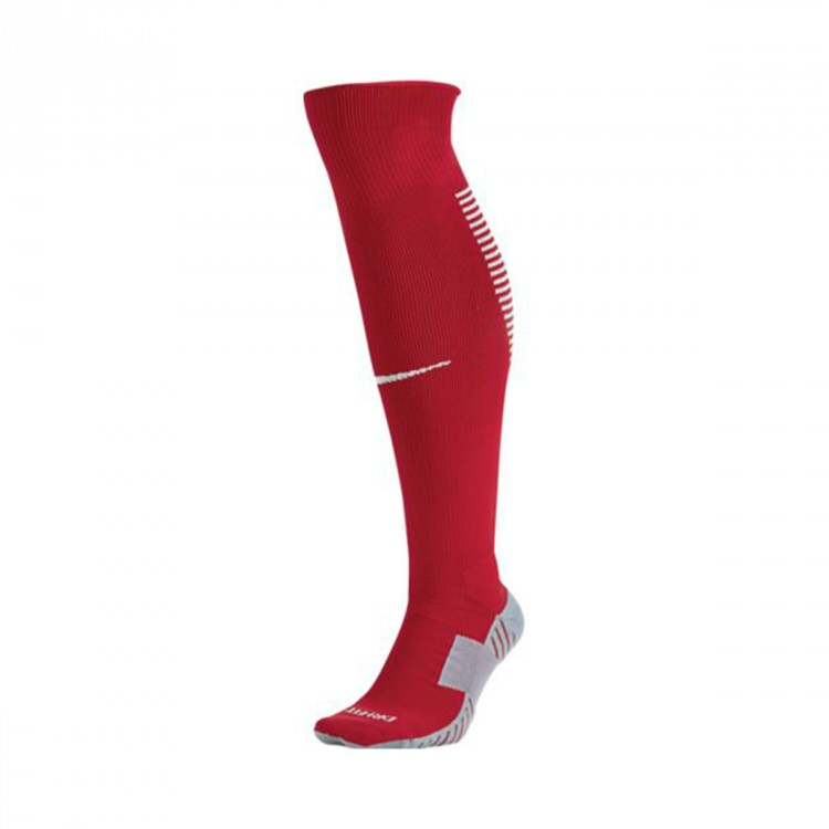 Medias Nike Squad Over-the-calf University red-White