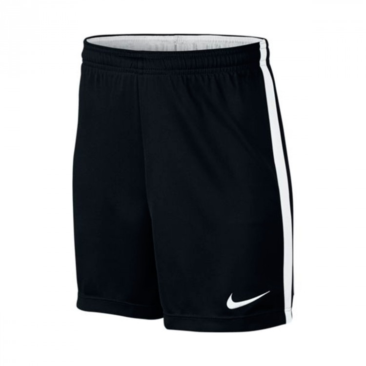Pantalón corto Nike Dry Football Niño Black-White