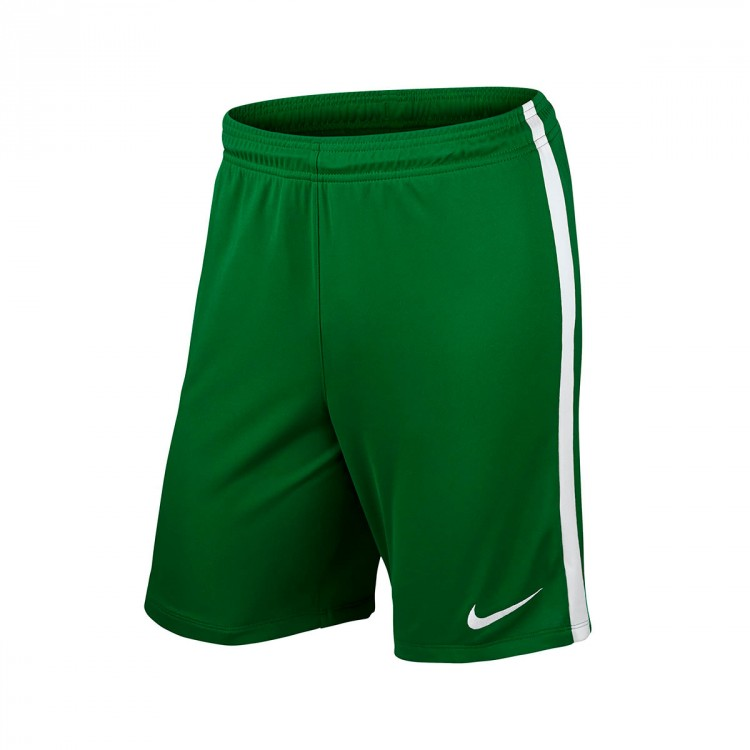 Pantalón corto Nike League Knit Niño Pine green-White