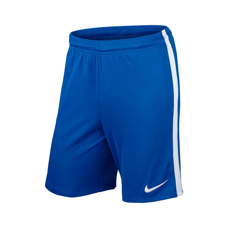 Pantalón corto Nike League Knit Royal blue-White