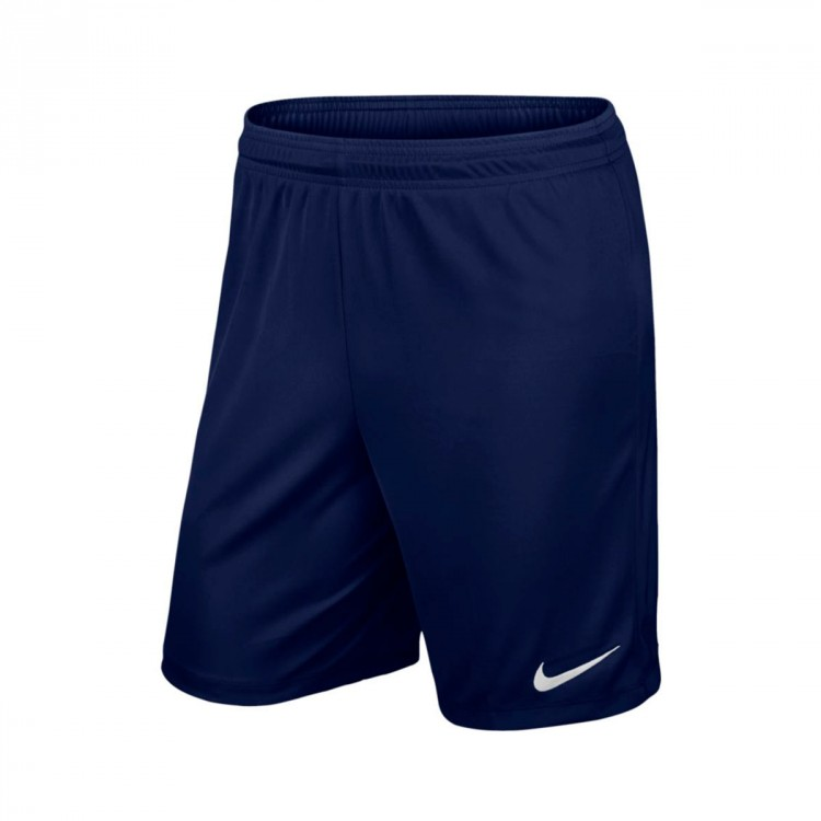 Pantalón corto Nike Park II Knit Midnight navy-White