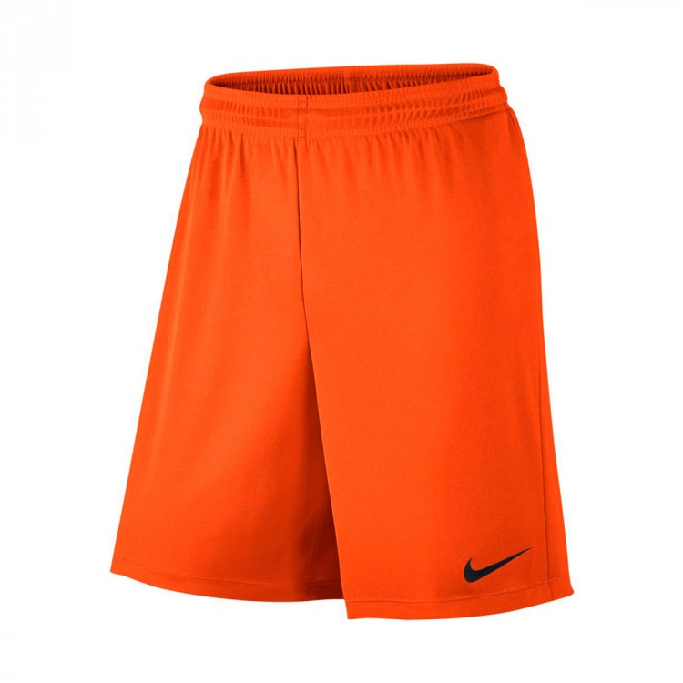 Pantalón corto Nike Park II Knit Niño Safety orange-Black