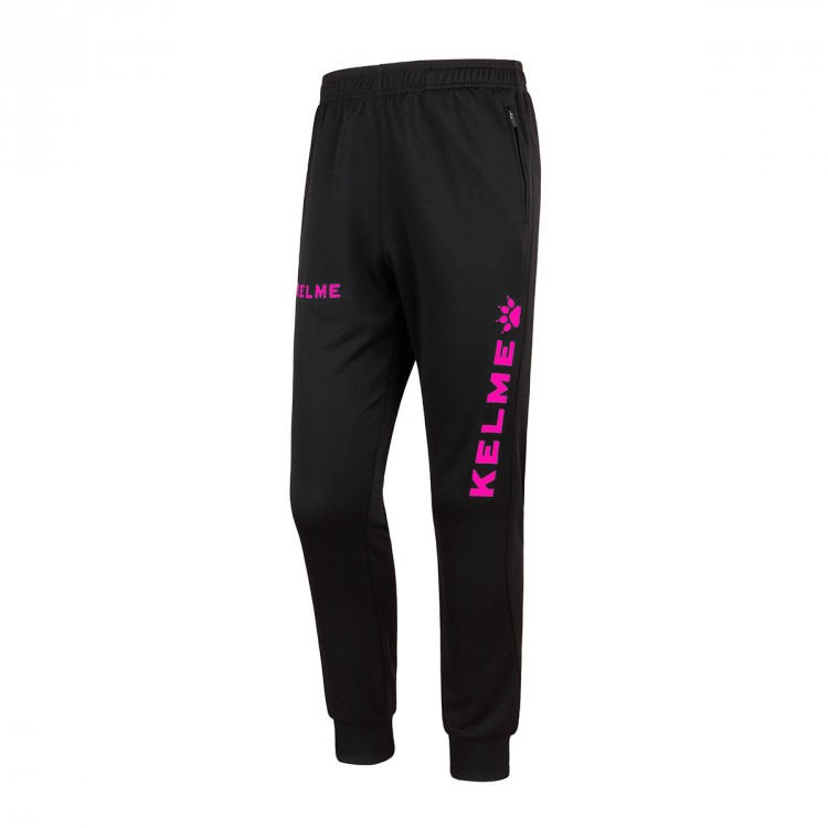 Pantalón largo Kelme Global Negro-Fucsia