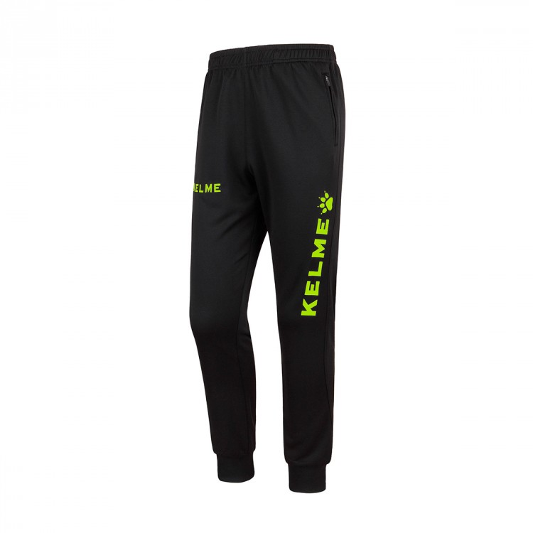 Pantalón largo Kelme Global Negro-Lima