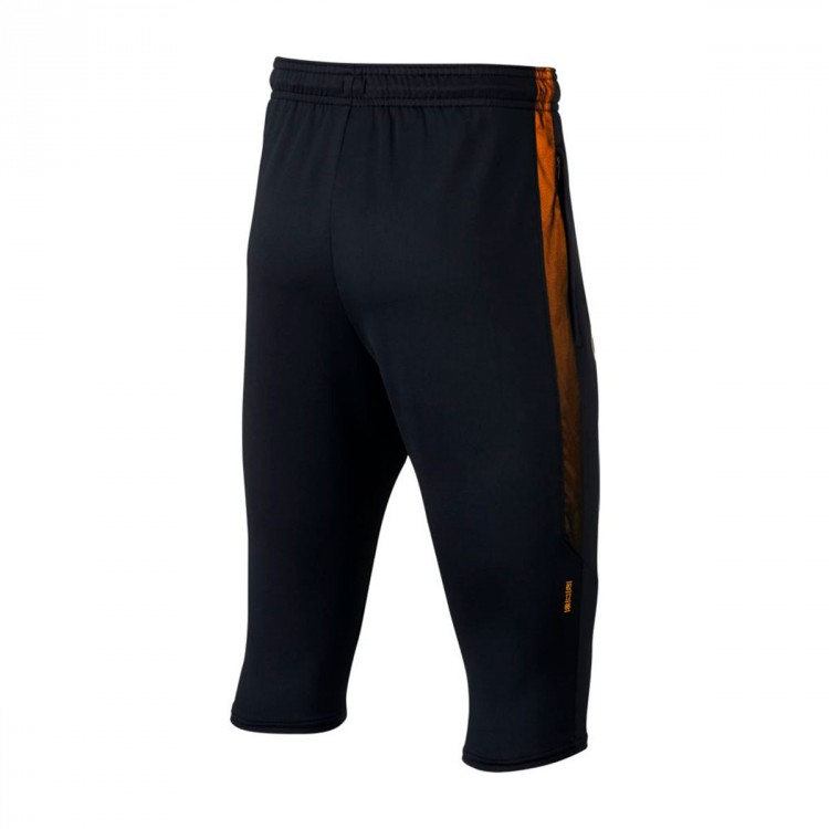 Pantalón pirata Nike CR7 Dry Squad Football Niño Black-Laser orange-Metallic silver